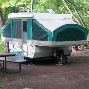 Viking camper tent trailer