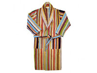 Paul Smith Designer Signature Stripe Dressing Gown / Robe. NEW.