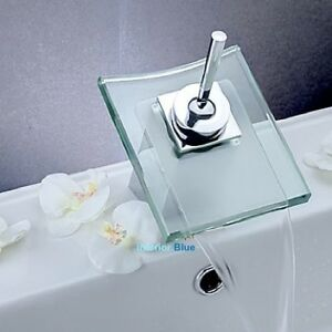 Glass WATERFALL Bathroom Faucet (CSA/cUPC) - HOT DEAL!