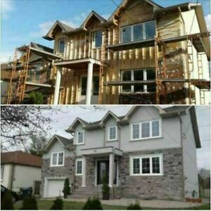 Free Estimates; Commercial/Residential Stucco and Stone Veneer
