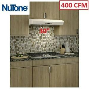 "NEW MANTRA SERIES 30"" RANGE HOOD AVDN130WH 213604951 NUTONE 400 CFM"