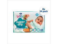 Boots Baby Nappies Size 3