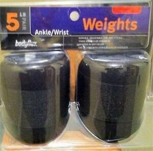 5 LB Pair Ankle Wrist Weights