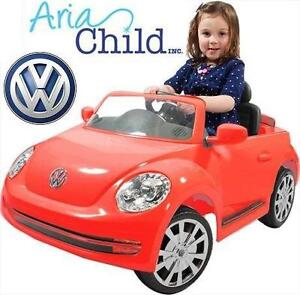 USED VW BEETLE 6V RIDE ON CAR ARIA CHILD - RIDE-ON TOY - VOLKSWAGEN BEETLE 76547379