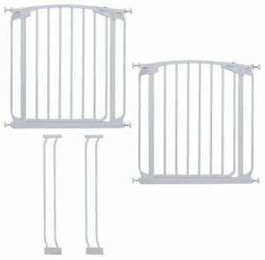 Dreambaby Swing Close Gate Value Pack, Includes 2 Gates and 2 Ex