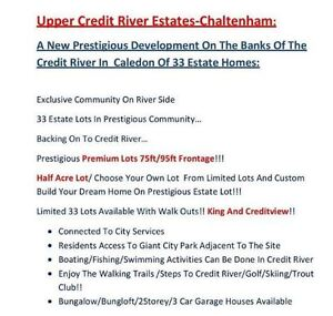 Limited 1/2 Acre Lots