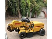 Stump grinder plus operator for hire