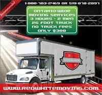 |Movers Chatham Kent - Local / Long Dist. 3 HR PROMO!