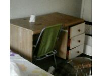 Free desk available now