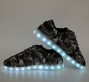 BRAND NEW LED CAMO SNEAKERS size 9.5-10 ladies