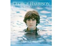 George Harrison: Living in the Material World [SIGNED/Inscribed by Olivia Harrison] - As New