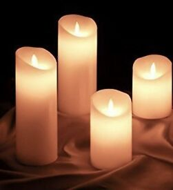 Real life wax effect candles BRAND NEW