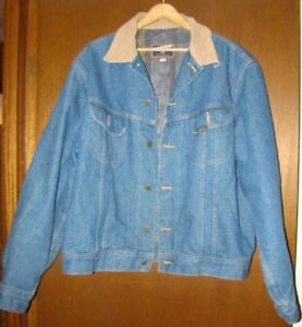 Men's size 46 Fully Lined Jean Jacket StormRider by Mustang