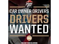 Car Owner Driver - Earn up to £8.50phr @ Pizza Hut Delivery