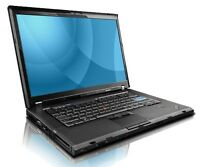 lenovo T500 C2D 2.4 2GB 250GB dvdrw win7 139$