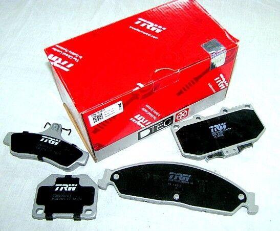 Peugeot 207 1.6L 2006-2008 TRW Rear Disc Brake Pads GDB1678