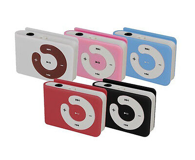 2012 Hot Fashion Plastic USB MicroSD/TF Card Mini Clip MP3 Player Cute Gift Mc on Rummage