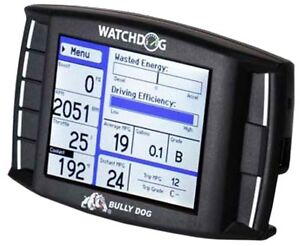 BULLY-DOG-40402-WATCHDOG-MULTI-GAUGE-MONITOR-BLACK-FOR-1996-UP-OBD-II-VEHICLES