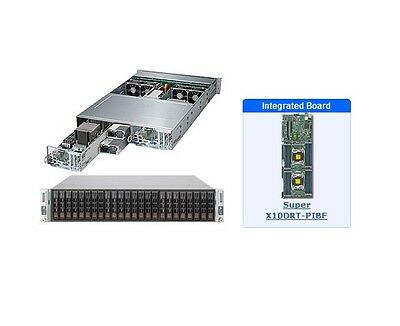 *NEW* SuperMicro SYS-2028TP-DECFR 2U Server with X10DRT-PIBF Motherboard