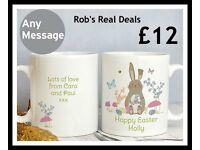 Personalised Easter Meadow Mug