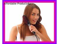 ceramic hair straightening brush