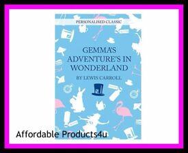 Personalised novels - Alice adventures in wonderland