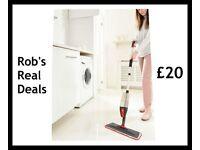 3-In-1 Spray Mop With Free Window Wiper Attachment !