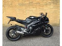 Yamaha YZF R6 - Black - Low Mileage - late 2007 - 57 Plate