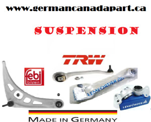 Front and Rear Suspension (control arm, ball joint, bushing,