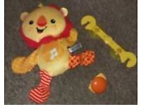 Car toy - Fisher price electronic Roar 'n Ride Lion