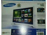 "Samsung led tv 22"" smart internet wifi apps"