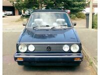 1988 VW MK1 Golf Limited Edition Clipper Cabriolet 1.8 (Swap/Px T4 T5 Caravelle LWB/SWB)