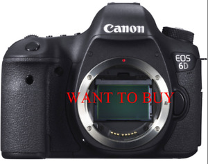 Want to buy a Canon 6D body