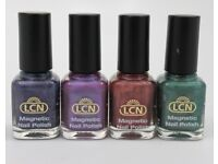 Basket of 62 LCN used nail polishes for sale - Not gel