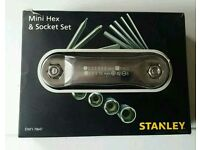 Stanley mini hex & socket set