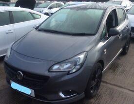 2016 Vauxhall Corsa LIMITED EDITION 1.4 Gun metal grey, SUPERB SPEC, LOW MILEAGE, WITH WARRANTY