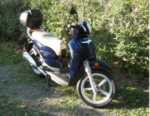 SCOOTER  SCARABEO 200cc