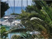French riviera, Nice, Monaco... large seafront flat with seaview + swimmming pool