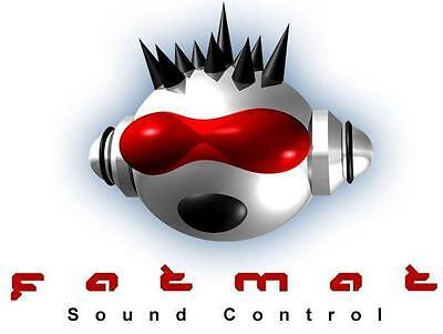 FatMat 100 SqFt No Logo Sound  Deadener For Cars & Trucks! Free Dynamat Sample