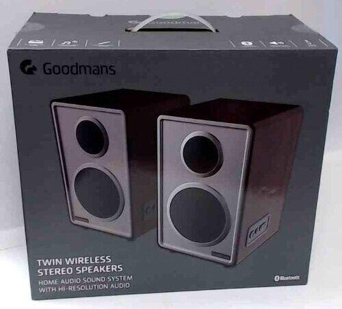 Brand new goodmans portable twin wireless Bluetooth speakers | in Falkirk | Gumtree
