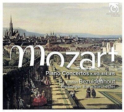 Kristian Bezuidenhou - Piano Concertos K413-415 [New CD]