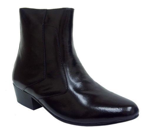 mens cuban heel boots ebay