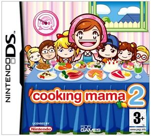 Cooking Mama 2 Dinner with friends DS
