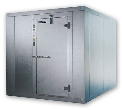 Master-bilt Walk In Cooler 8x8 Indoor 76ft H W Floor Refrigeration