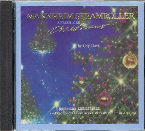 CD - Mannheim Steamroller - A Fresh Aire Christmas - Chip Davis AGCD 1988 - $5.95