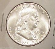 1950 D Franklin Half Dollar