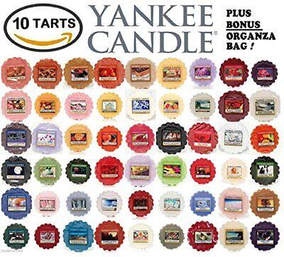 Yankee Candle Wax Tarts - Grab Bag of 10 Assorted Yankee Can