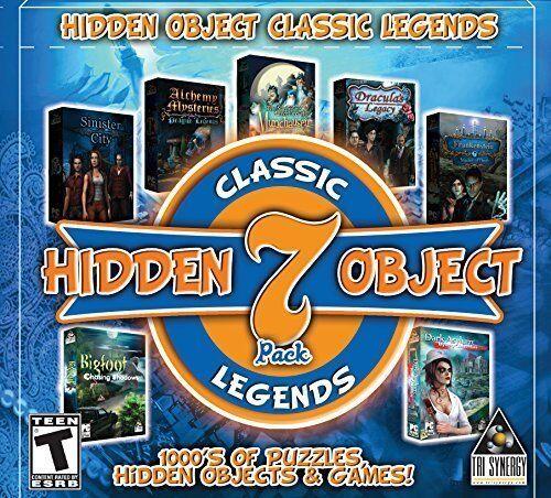 Computer Games - Hidden Object Classic Legends PC Games Window 10 8 7 XP Computer seek & find