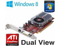 ATi FireMV 2250 256MB PCI-Express DMS-59 Dual Display Graphics Card for Desktop PC