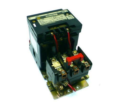 Square d motor starter ebay for Square d motor starter